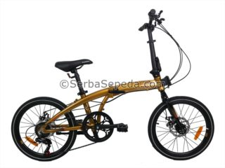Sepeda Element Ecosmo 7 New Fullbody