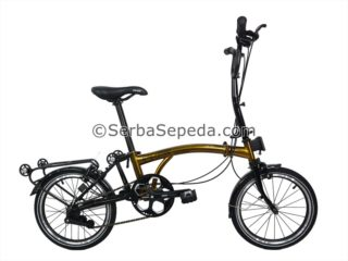 Sepeda Element Pikes 3 Speed Gold (1)