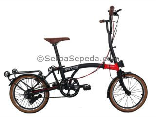 Sepeda Element Pikes 8sp Dark Blood (1)