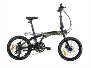 Sepeda Element Ecosmo Z8 Black Panther (1)