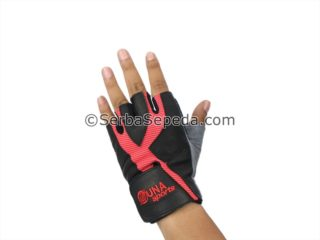 Sarung Tangan Zuna Half Finger Men Power Goat Skin (5)