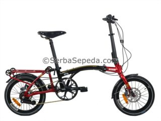 Sepeda United Trifold 11 Speed Reflex fullbody