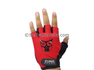 Sarung Tangan Zuna Half Finger Ladies Owl Simple