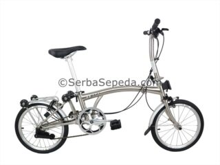 Sepeda 3sixty m3s Electro Silver