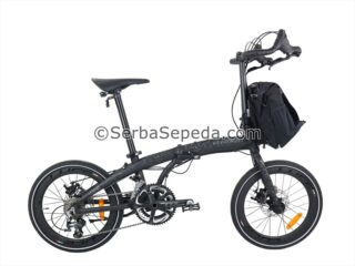 Sepeda Element Ecosmo Z10 Black Coral (1)