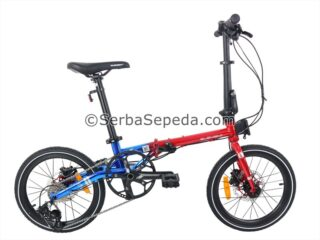 Sepeda Element Troy Chrome Edition Red Blue (1)