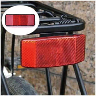 Buy Genric Elvy White: Bicycle Bike Wheel Reflector Safety Spoke Reflective  Mount Vintage Clip Warning Online at Low Prices in India - Amazon.in